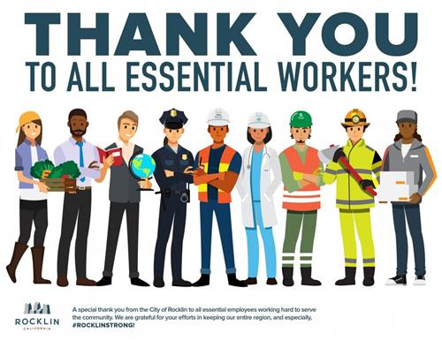 Thank you Ess Workers