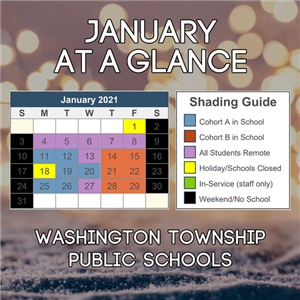 January at a Glance