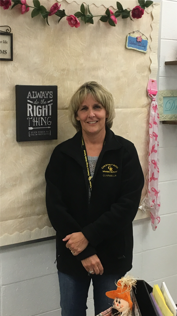 Mrs. Susan Kane, 8th Grade School Counselor