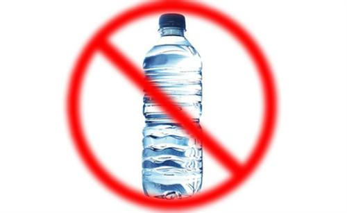 no water bottles