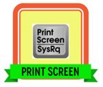 Print Screen Badge