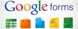 google forms button
