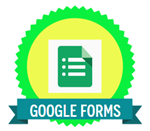 google forms badge