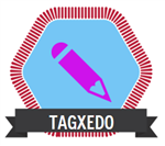 Tagxedo badge
