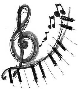 Treble Clef with Piano