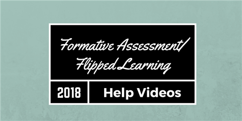Formative Assessment and Flipped Learning