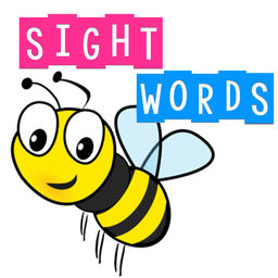 "Practice your sight words each night and your reading will ""BEE"" out of sight!"