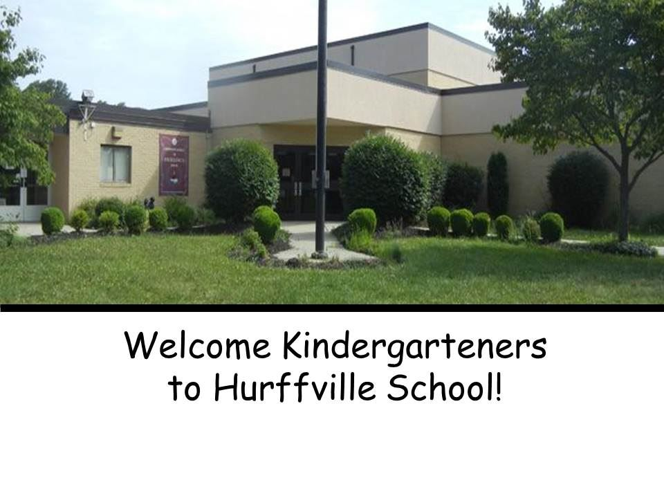 Welcome Kindergarteners
