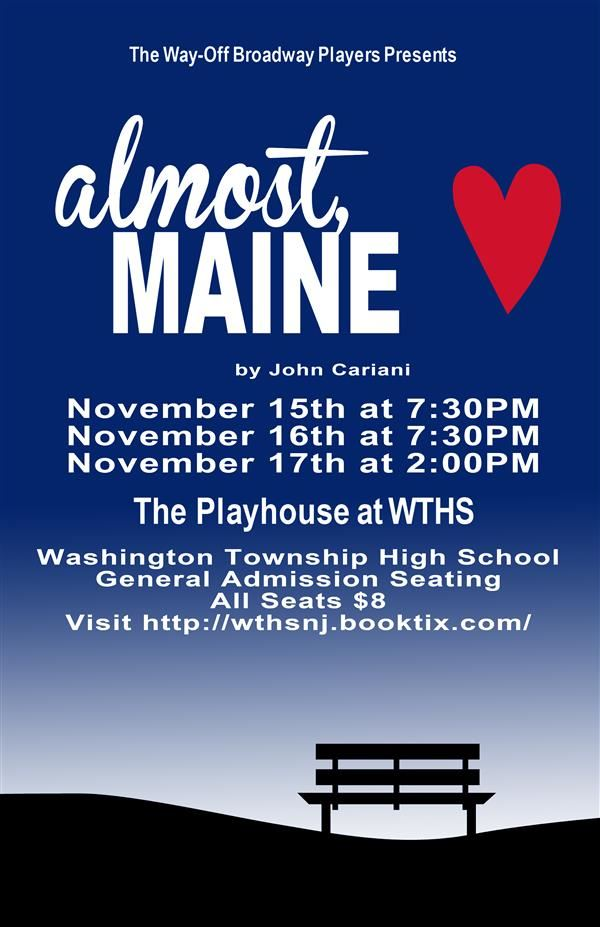 "WTHS' Way-Off Broadway Players Preparing for Upcoming Production of ""Almost Maine"""