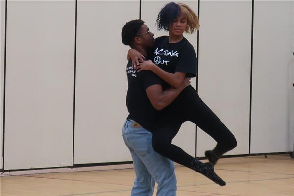 GCIT Acting Troupe Visits BHMS with Message of  Spreading Love, Not Hate