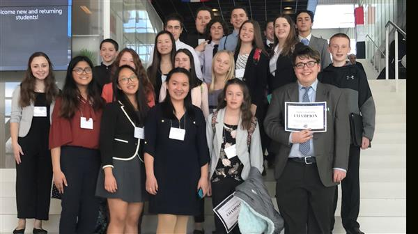 Twenty-five BHMS FBLA Students Compete in State Leadership Conference