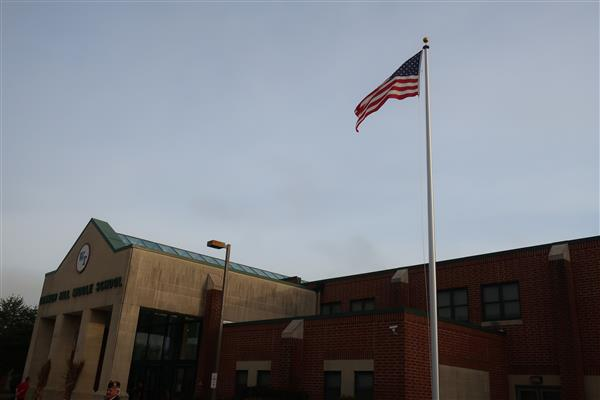 BHMS Flies Flag on New Flagpole