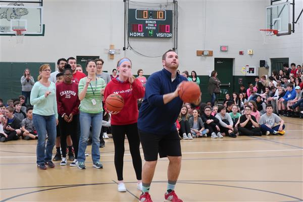 BHMS Hosts First Annual March Madness Assembly