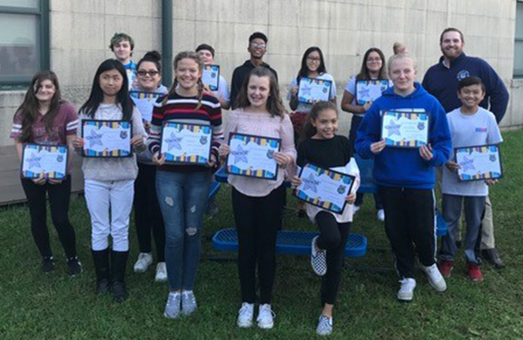BHMS Names Students of Month