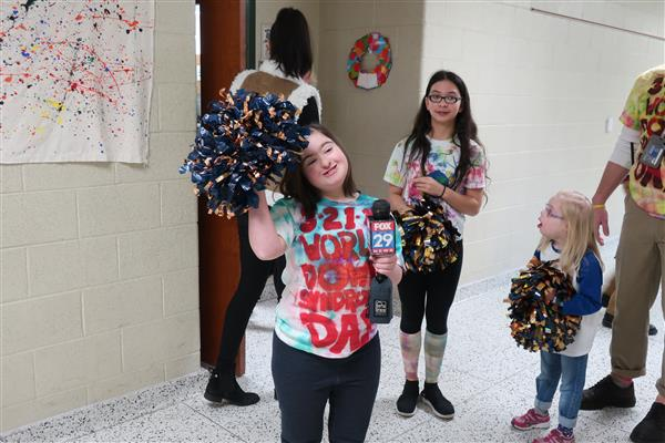 BHMS Students and Staff Host Hallway Dance Party in Celebration of World Down Syndrome Day