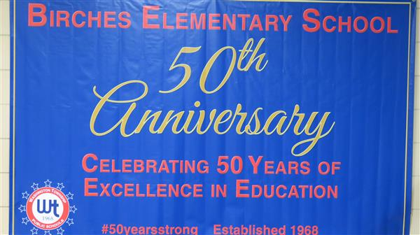 Birches Elementary Plans Events, Open House to Celebrate 50th Anniversary