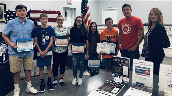 CRMS Talented Art Students Recognized By Mayor