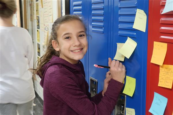 "CRMS Students Reminded to  ""Be You! Be Kind"" During ""Building Better People"" Day"