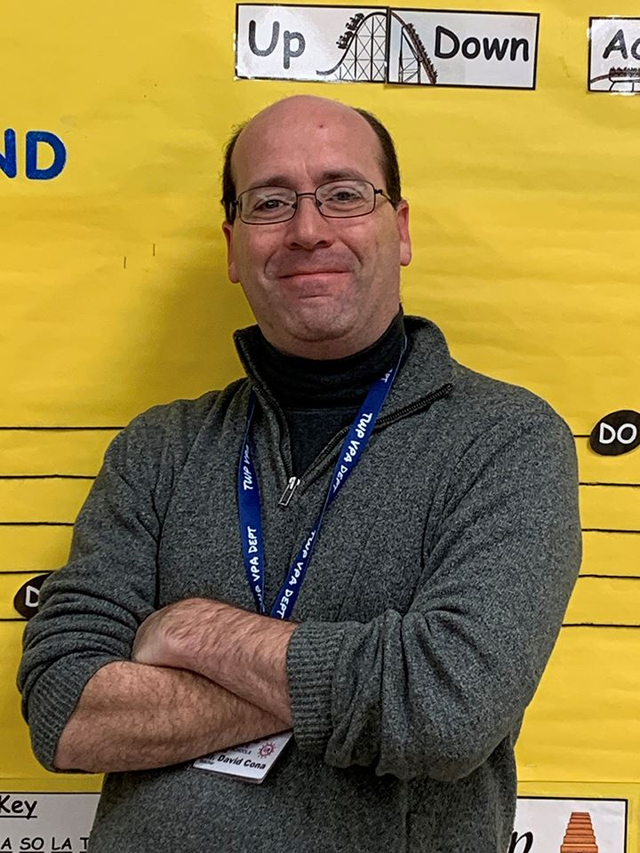 Thomas Jefferson Elementary School Music Teacher David Cona Named District Teacher of the Year