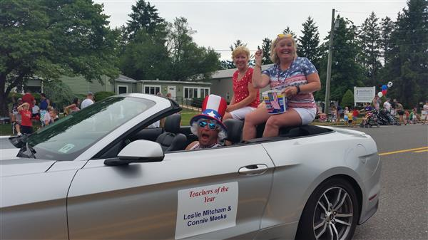 Fourth of July Festivities Include District Teachers of Year and WTHS Marching Band