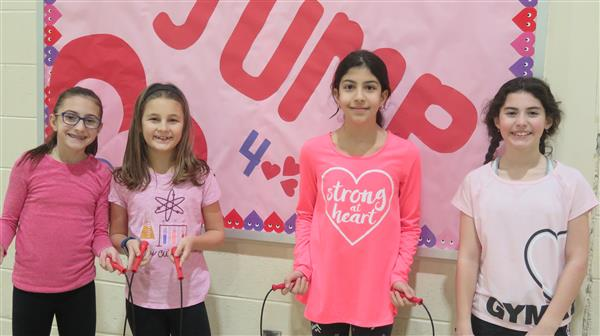 Hurffville Elementary Raises $13,040 for American Heart Association Thrrough Jump Rope for Heart