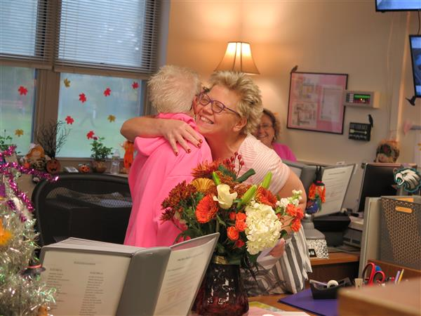 WTHS Secretary Named Gloucester County Educational Support Professional of the Year