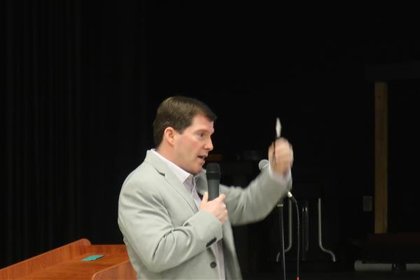 6ABC Meteorologist Chris Sowers Talks Weather with BHMS Sixth-Graders