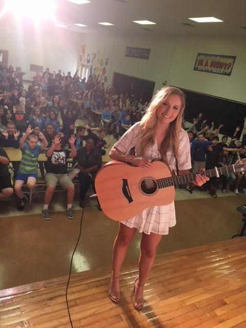 Country Music Artist Jessie Chris Shares Anti-Bullying Message with OVMS Students