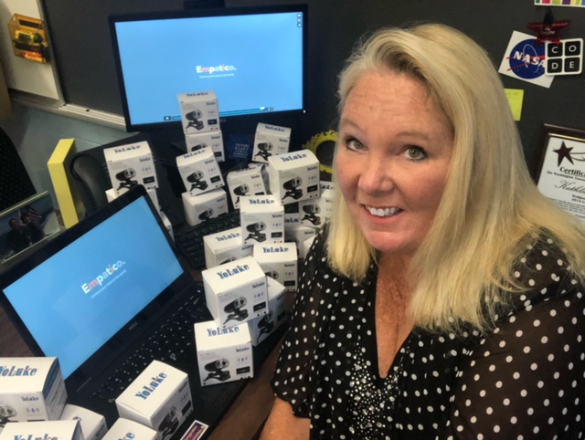 Technology Integration Specialist Bringing Global Perspective to Washington Township Classrooms
