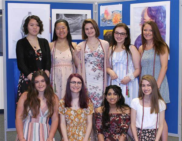 WTHS National Art Honor Society Welcomes Seven Inductees