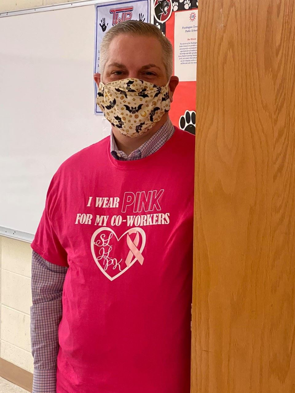 OVMS Staff Shows Support for Colleagues Who Have Battled or Are Currently Battling Breast Cancer