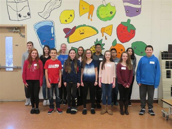 OVMS Names Students and Super Students of Month