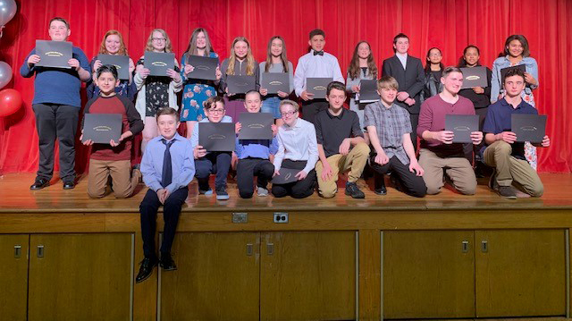 Twenty-Three Students Honored at Orchard Valley Middle School's First Annual People's Choice Awards