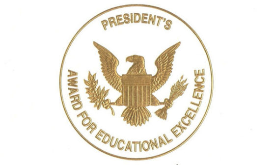 Washington Township Middle Schools Name  2019-20 Presidential Award Winners