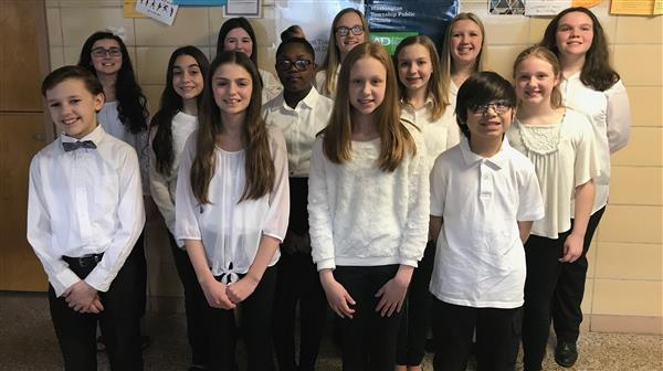 Thirteen Washington Township Students Perform with All-South Jersey Elementary Chorus