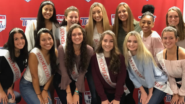 WTHS Names 2018-19 Homecoming Court