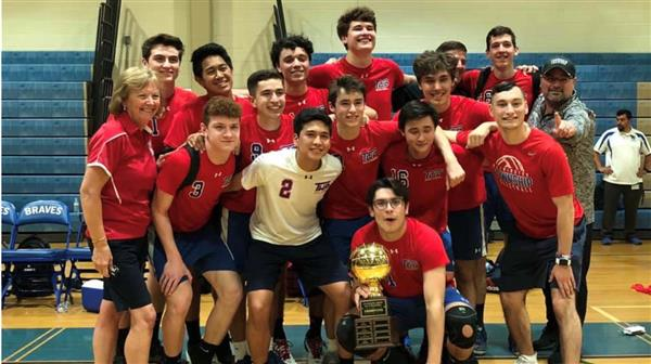 Washington Township High School Boys Volleyball Squad Captures County Championship; Caps Memorable Year for Coach