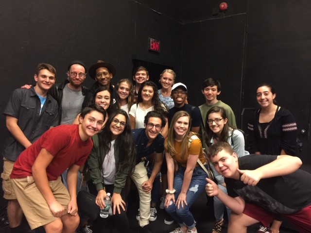 Broadway Writers Share Insights and Encouragement with Members of the WTHS Drama Club
