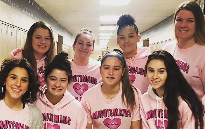 "WTHS Girls Basketball's ""Pink"" Game Scores Awareness  and Pride during Coaches vs. Cancer Week"