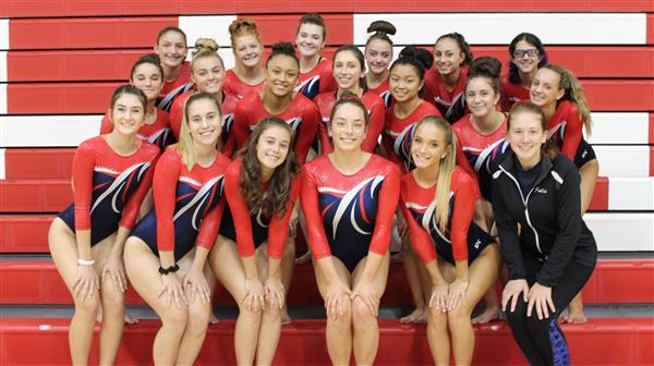 WTHS Gymnastics Celebrates Second Consecutive Conference Championship