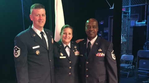 WTHS Air Force Junior ROTC Officers Named Recipients of Educator of the Year Team Award
