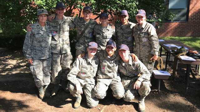Washington Township High School AFJROTC Cadets Attend Cadet Leadership Course at Joint Base McGuire-Dix-Lakehurst