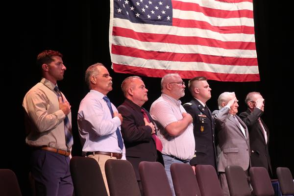WTHS Welcomes 13 Graduates, 2 Honorary Inductees into School's Military Hall of Honor