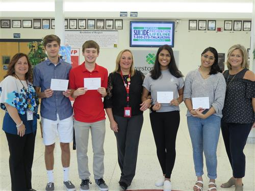 Four WTHS Seniors Named Commended Students in the 2019 National