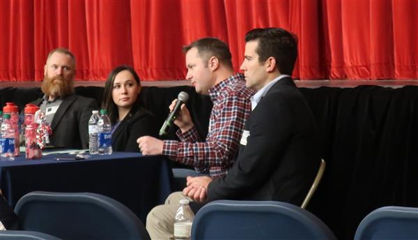 Invited Guests Share Advice and Encouragement at  Annual WTHS Science Career Symposium