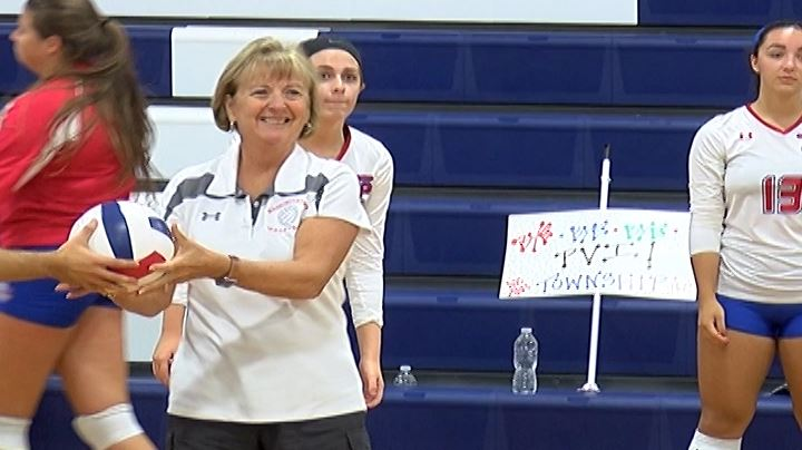 WTHS Volleyball Coach Barb McBrearty to Receive 2019 NJSIAA Volleyball Legends Award