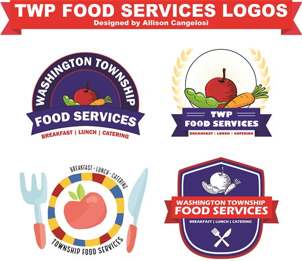 Washington Township High School Student's Design Selected as New Logo for District Food Service Department