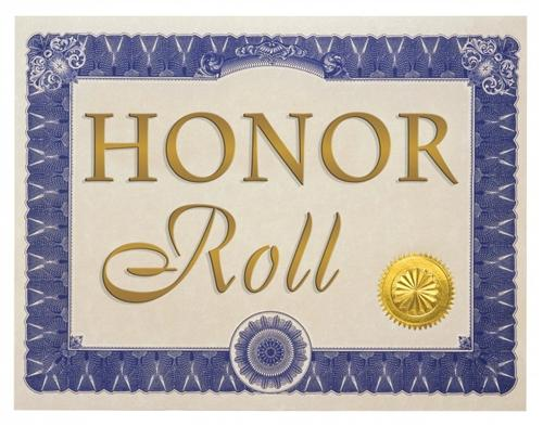 BHMS Names Principal's List and Honor Roll