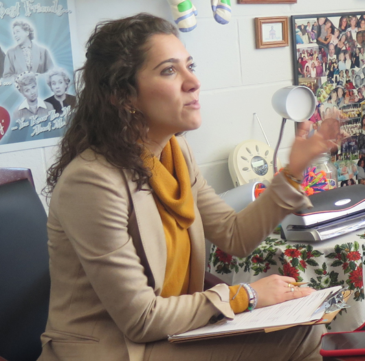 State's Top Teacher Comes to WTHS