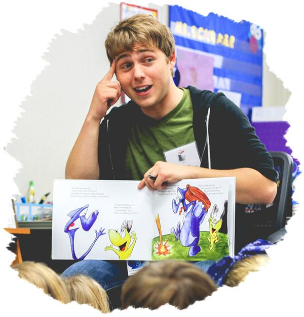 Children's Author Timmy Bauer to Meet Virtually with Whitman Elementary School Third Graders